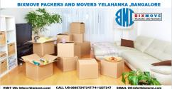 BIXMOVE Packers and Movers Yelahanka,Bangalore