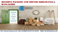 BIXMOVE Packers and Movers Koramangala,Bangalore