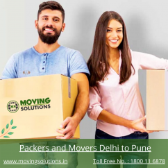 Packers and Movers from Delhi to Pune