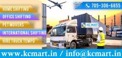 KCMART - Registered Packers Movers in Dilshad Garden