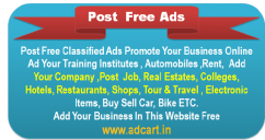 Search all the best sites for Free Classified Post Ad.