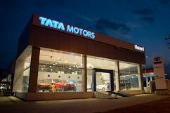 Tata showroom in trichy.
