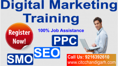 Best Digital marketing course in chandigarh with CITC