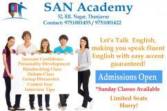 Spoken English Class In Thanjavur