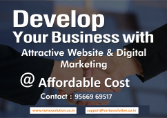 Develop fantastic websites and generate more leads by digital marketing