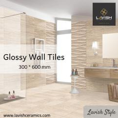 Glossy Wall Tiles 300X600mm
