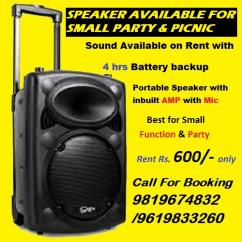 Portable Sound Systems Rental Providers in Kandivali