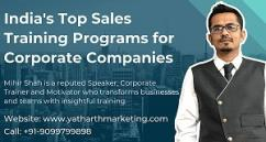 Best Sales Training Programs at Yatharth Marketing Solutions