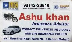 Vehicle insurance and LIC polices advisor