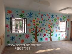 New class Room Art work painting in Hyderabad