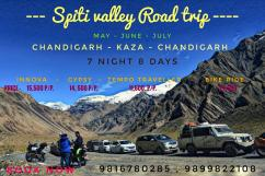 Explore Spiti From Ex Chandigarh