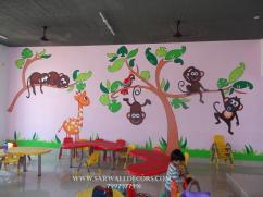Excelent class Room wall painting in Hyderabad