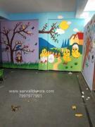 New school Art work Design painting in Hyderabad