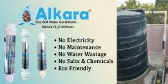 Natural Water Softener for Aqua hatcheries