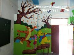 Different class Room wall Art painting in Hyderabad