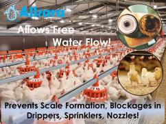 poultry farms water softener suppliers