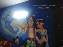 High school Educational wall art painting in Hyderabad