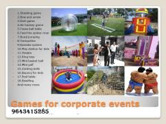 CALL FOR CORPORATE EVENT GAMES AND ENTERTAINMENT IN GURGAON