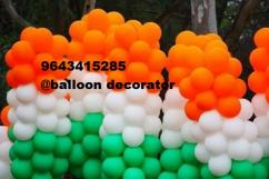 BALLOON DECORATOR FOR OFFICE IN CYBERHUB GURGAON