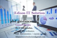 Research Analyst position at Edison It Solution