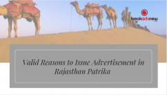 Rajasthan Patrika Ad Booking Online at Lowest Rates
