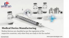 Medical Device Manufacturing Consulting Services in india and US