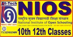 Admission 10th and 12th from National Institute of open schooling