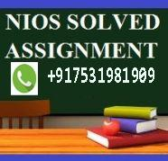 NIOS Solve Assignment (TMA ) march/April 2020