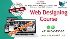 Best Web Design Training Institute in Hyderabad with Placement
