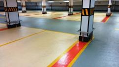 Epoxy Anti slip floors paint for parking area Sports and work shops