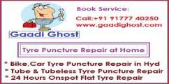 Mobile Bike, Car Puncture Repair in Hitech City, Madhapur Hyderabad