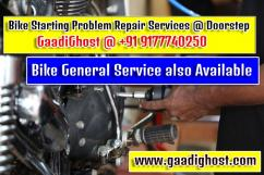 Doorstep Bike Repair and General Service in Madhapur, Hitech City Hyderabad