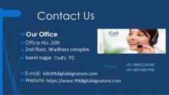 Digital signature certificate in gurgaon