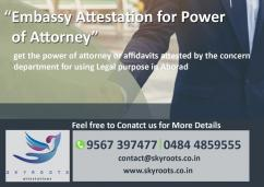 Attestation for Power of Attorney
