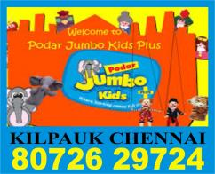 KIilpauk Podar Jumbo Kids 8072629724  1193 Chennai Online Education