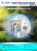 RO WITH DM & LAB WATER PURIFICATION SYSTEM