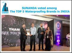 Waterproofing brands in INDIA  Sunanda Global