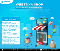 WEBSTIKA SHOP UNITED BUSSINESS WITH POSSIBILITIES