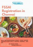 FSSAI Registration in Chennai  Online registration in 1 day