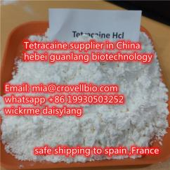 Tetracaine CAS 136-47-0 supplier in China