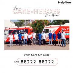 Get HelpNow Ambulance Service In Banglore