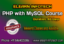 Php With Mysql Course In Hyderabad With Placement