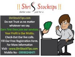 Online Indian Share Market Live Tips Today  Shri Stock Tips