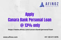 Apply Canara Bank Personal Loan