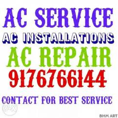 AC SERVICE AND AC installation s