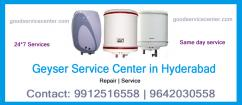 Geyser Service Center in Hyderabad 9642030558