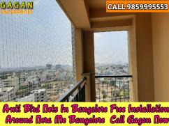 Bird net free installation nets Bangalore