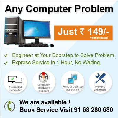 Laptop Computer Formatting and OS Installation At lowest Price Rs. 500