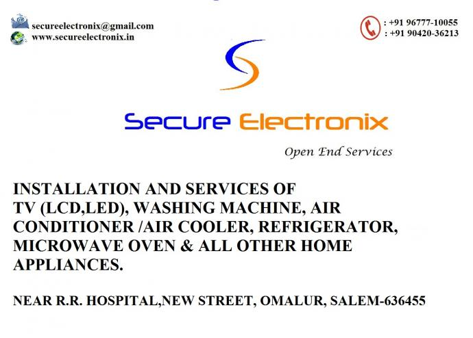 Electronics Installation and Repair Services
