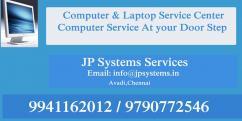 ONSITE LAPTOP SERVICE AND COMPUTER SERVICE AVADI PATTABIRAM 9941162012 JP SYSTEM